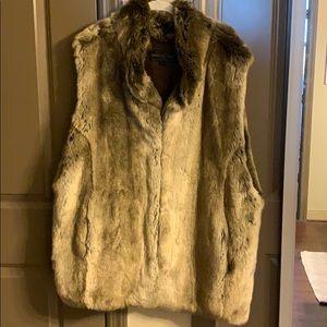 Donna Salyers Fabulous-Furs Couture Hook Vest